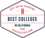 Best online colleges in California award