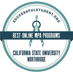 Best Online Programs - Masters in Public Administration badge from successfulstudent.org