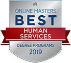 Best online master degree programs in Human Services.