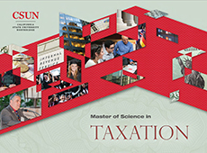 M.S. in Taxation e-brochure