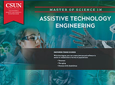 M.S. in Assistive Technology Engineering e-brochure