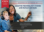 Master of Science in Assistive Technology Studies and Human Services e-brochure