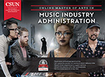 Master of Arts in Music Industry Administration e-brochure