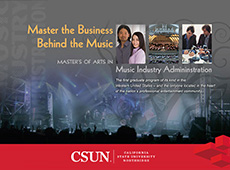 Music Industry Administration e-brochure