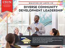 M.A. in Diverse Community Development Leadership e-brochure