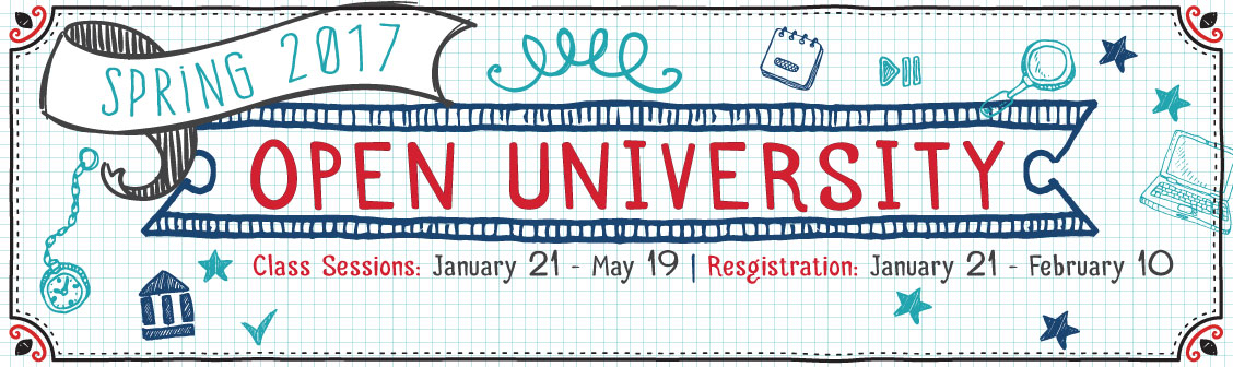 Open University Spring 2017. Experience Spring at CSUN.