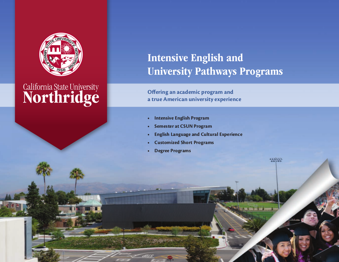 IEUP Student Guide brochure cover