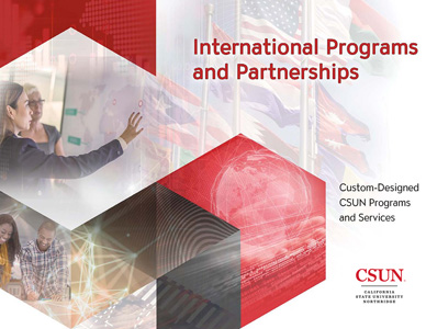 Custom-Designed CSUN Programs and Services brochure