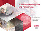 International Programs and Partnerships brochure