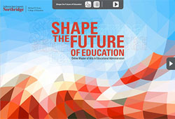 Shape the future of education icon