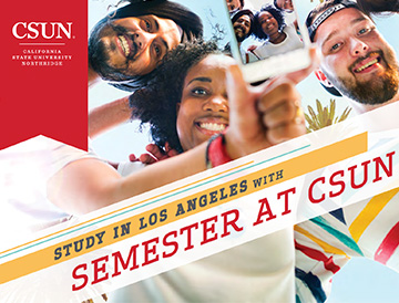 Experience Semester at CSUN cover