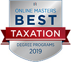 Best Online Master's in Accounting Programs badge