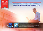 Master of Public Administration: Health Administration Option e-brochure