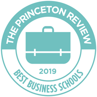 The Princeton Review Best Business Schools 2019 badge