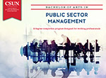 B.A. in Public Sector Management e-brochure