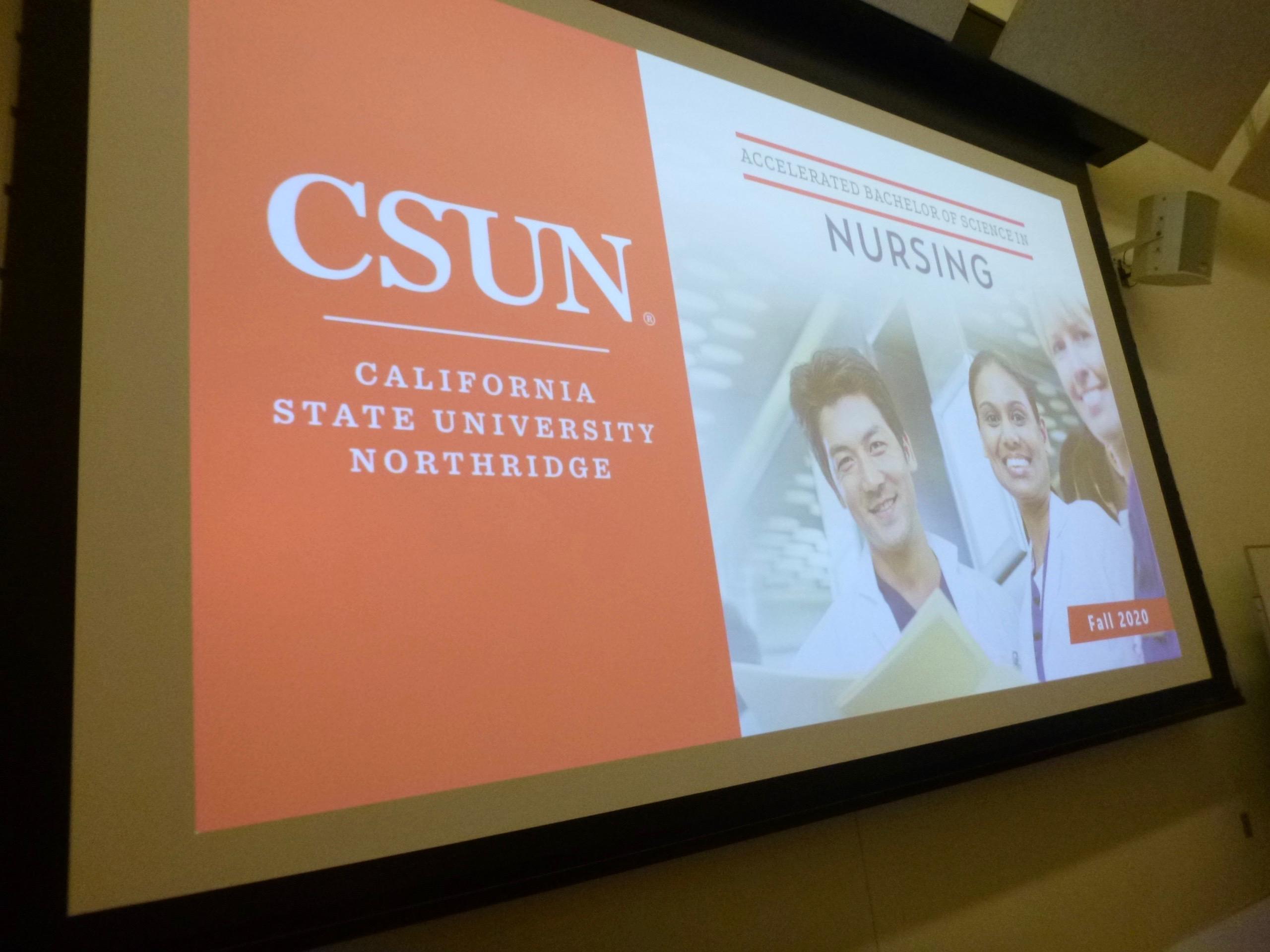 Accelerated Bachelor of Science Nursing Program PowerPoint slide