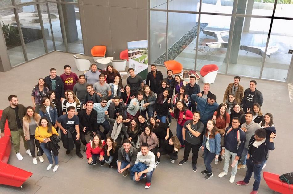 IBS Students visit CSUN