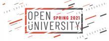 Take a Spring 2021 Class through Open University