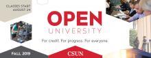 Fall Open University