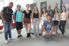 Visiting students from the International Business School of São Paulo, Brazil