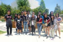 Students in the Summer English Language and Cultural Experience