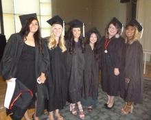 M.S. Applied Behavior Analysis students celebrate their graduation 2