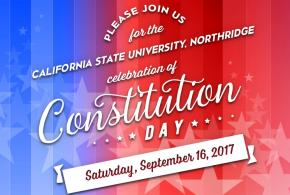 Constitution Day Sept. 16, 2017