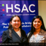 Elaine Linga and Maryel Albarran at HSAC