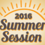 Summer Session 2016 banner